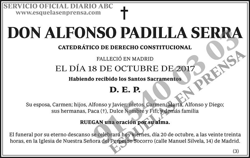 Alfonso Padilla Serra